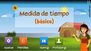 Medidas de tiempo (básico) - Unidad interactiva