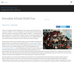 Innovative Schools World Tour