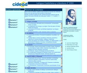 La Lengua Castellana y Literatura 3º ESO