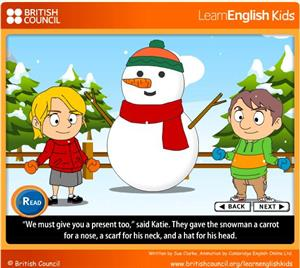The snowman (British Council)