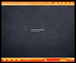 Características económicas de las regiones de Chile (Educarchile)