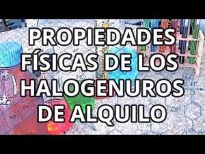 Halogenuros de alquilo II
