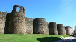 Muralla romana de Lugo en 3D. World Wonders Project
