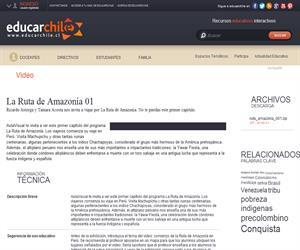 La Ruta de Amazonía 01 (Educarchile)