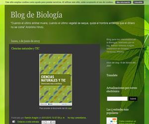 """""""Blog de Biología"""", el blog del profesor mejicano Ramón Aragón"""