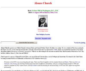 Church biography