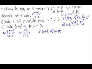 Distancia entre dos rectas que se cruzan (perpend. común)