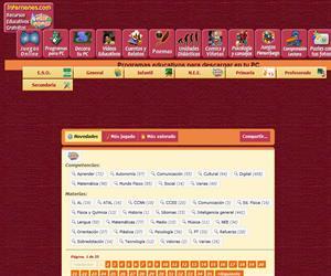Juegos educativos para descargar (Internenes)