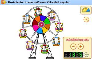 Velocidad angular (educaplus.org)