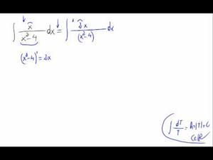 Integral - Tipo logaritmo