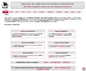 Ejercicios de inglés para secundaria y bachillerato - Didactalia ...