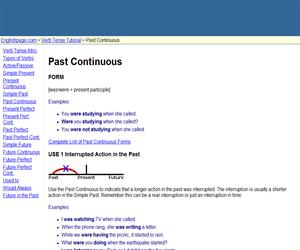 Past Continuous (englishpage)