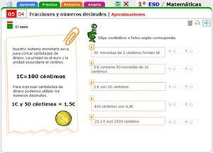 Aproximaciones. Matemáticas para 1º de Secundaria.
