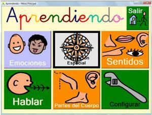 Aprendiendo y Emo, software para Educación especial