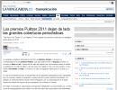 Los premios Pulitzer 2011 dejan de lado las grandes coberturas periodísticas (lavanguardia.es)
