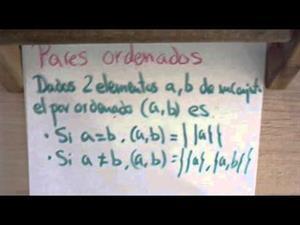 27 Teoria de Conjuntos || Pares Ordenados