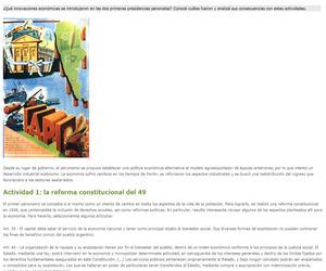 Políticas económicas de los primeros gobiernos peronistas