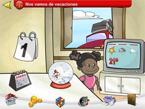 Un Juego educativo sobre los días de la semana para Educación Infantil