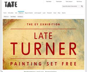 Late Turner in the Tate