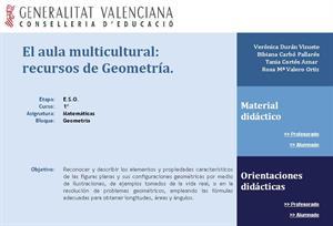 El aula multicultural: recursos de geometría.