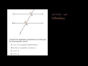 Geometría 1 - razonamiento deductivo (Khan Academy Español)