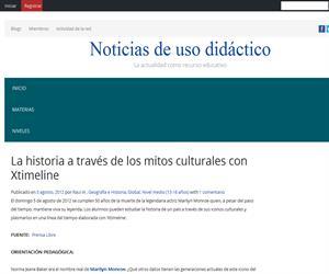 La historia a través de los mitos culturales con Xtimeline