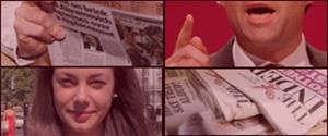 El día mundial de la libertad de prensa en inglés