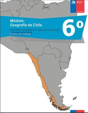 Geografía de Chile: fichas de trabajo (Ministerio de Educación de Chile)