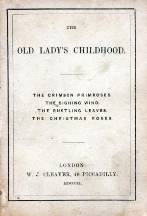 The old lady's childhood (International Children's Digital Library)