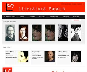 Literaturasorora.com I Literatura para escuchar