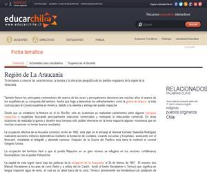 9na Región Pueblos Originarios (Educarchile)