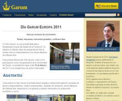 Día Garum Europa 2011: Nuevos vectores de crecimiento. Redes, empresas, mercados globales y software libre.