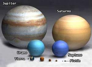 Los planetas del Sistema Solar (Clarion Web)