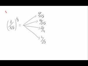 Potencias y exponente fraccionario - Cuestión 4
