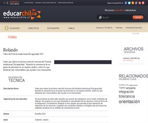 Rolando (Educarchile)