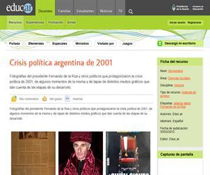 Crisis política argentina de 2001