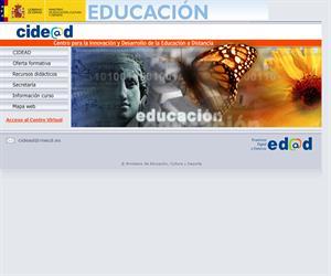 El Centro para la Innovación y Desarrollo de la Educación a Distancia (CIDEAD)