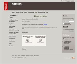 Listen to Nature: los sonidos de la naturaleza (educación bilingüe)