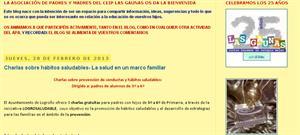 Blogs de Asociaciones de Familias, la experiencia del CEIP Las Gaunas - Revista Didactalia
