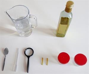 Hacer visibles las sustancias solubles en agua. Experimento de Medio ambiente para niños de 8 a 12 años