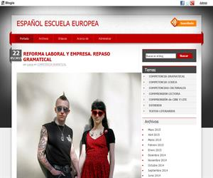 Español Escuela Europea,  materiales educativos de Lengua y Literatura