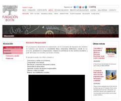 Programa 'Educación responsable' de la Fundación Botín