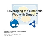 Leveraging the Semantic Web with Drupal 7