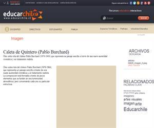 Caleta de Quintero (Pablo Burchard) (Educarchile)
