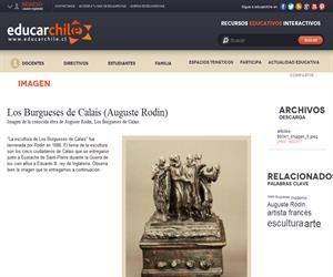 Los Burgueses de Calais (Auguste Rodin) (Educarchile)