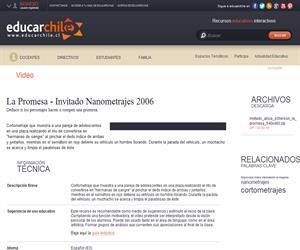 La promesa - Invitado Nanometrajes 2006 (Educarchile)