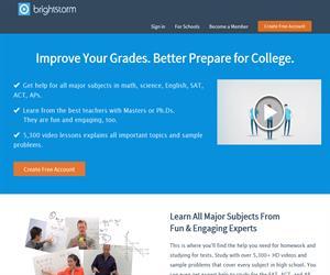 Brightstorm, vídeos educativos de Matemáticas, Física, Química y Biología