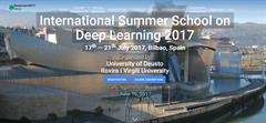 "GNOSS participa en ""Deep Learning 2017"". International Summer School. Bilbao. 17 al 21 de julio."