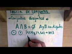 16 Teoria de Conjuntos || Conjuntos Disjuntos