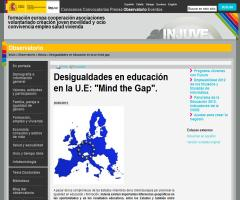 Desigualdades en educación en la U.E: 'Mind the Gap'